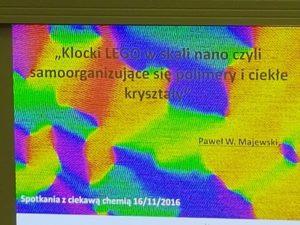 Nanotechnologia na wykładach ciekawej chemii