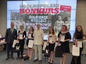 X Ogólnopolski Konkurs Żołnierze Wyklęci