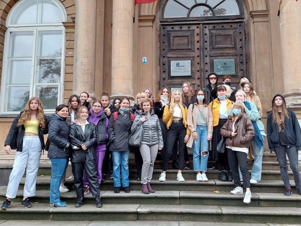 Zdjęcie grupowe klasy 3TEG